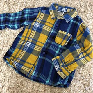 エフオーキッズ(F.O.KIDS)のエフォーキッズ チェック ネルシャツ(Tシャツ/カットソー)