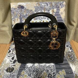 クリスチャンディオール(Christian Dior)のDIOR LADY DIOR ミディアムバッグ レディディオール(ショルダーバッグ)