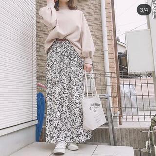 フィフス(fifth)のfifth 新品 レオパードプリーツスカート(ロングスカート)