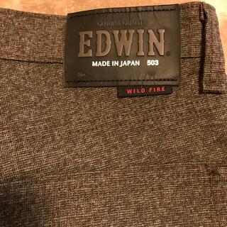 エドウィン(EDWIN)のEDWIN WILD FIRE 503 ダークブラウン(ワークパンツ/カーゴパンツ)