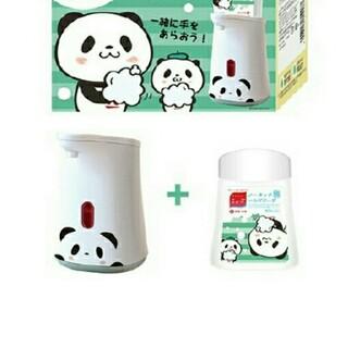 Mew's - お買いものパンダ ミューズ ノータッチ 泡 ハンドソープ 本体+詰め替えボトル