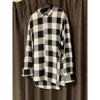 LAD MUSICIAN - 18aw チェックシャツ ビックシルエット 42サイズ