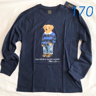 ポロラルフローレン(POLO RALPH LAUREN)のラルフローレン ポロベア コットンTシャツ ネイビー  ボーイズXL/170(Tシャツ/カットソー(七分/長袖))