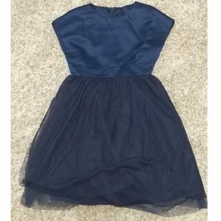ジーユー(GU)のGU チュールスカートワンピース(ドレス/フォーマル)