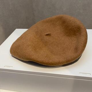 ミラオーウェン(Mila Owen)のミラオーウェン  ベレー帽 ベージュ(ハンチング/ベレー帽)