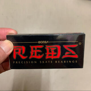 インディペンデント(INDEPENDENT)のベアリング REDS レッズ BONES BEARINGS ボーンズ(スケートボード)