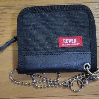 エドウィン(EDWIN)のEDWIN チェーン付き 折り財布(折り財布)
