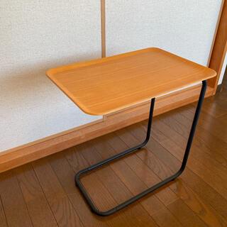 MUJI (無印良品) - 無印良品 廃盤品 スチールパイプサイドテーブル