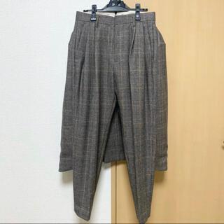 SUNSEA - 【極美品】Stein 19aw window pen tapered Pants