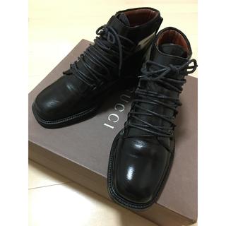 Gucci - GUCCI グッチ ショート ブーツ 黒