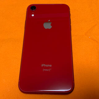 iPhone - 美品キズなし バッテリー94% iPhone XR red 64GB