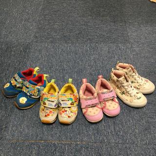 スニーカー 靴 14cm  15.5cm  アンパンマン H&M