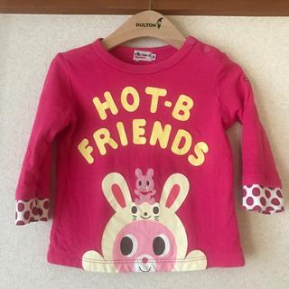 ホットビスケッツ(HOT BISCUITS)のミキハウス【HOT BISCUITS】長袖カットソーsize80(Tシャツ)