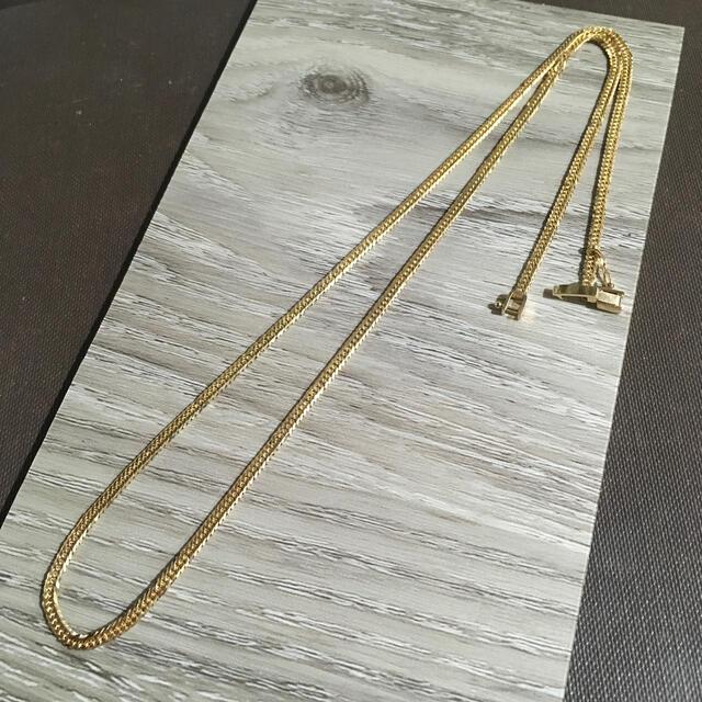 K18金 国産 6面ダブル喜平ネックレス 10グラム 50cmけんじ様専用 メンズのアクセサリー(ネックレス)の商品写真