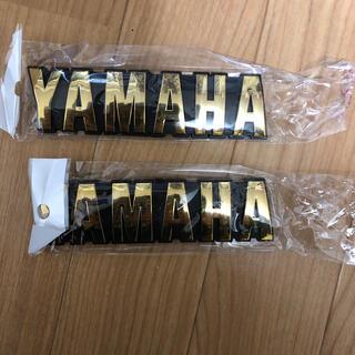 ヤマハ(ヤマハ)のxjr400 タンク エンブレム YAMAHA(パーツ)