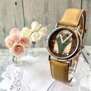 ピエールラニエ(Pierre Lannier)の【電池交換済み】Pierre Lannier ピエールラニエ 腕時計 フクロウ(腕時計)