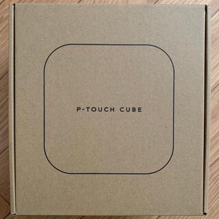 ブラザー(brother)のピータッチキューブ P-TOUCH CUBE PT-P710BT ラベルライター(PC周辺機器)
