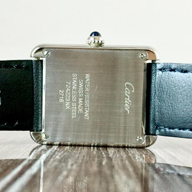 Cartier(カルティエ)のCartierカルティエ タンクソロSM✴︎エルメスGUCCIシャネルHIROB レディースのファッション小物(腕時計)の商品写真