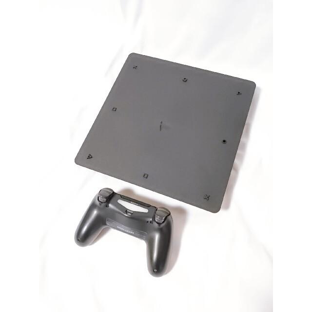 PlayStation4(プレイステーション4)のPS4 ジェットブラック 薄型 CUH-2000A500GB 美品 エンタメ/ホビーのゲームソフト/ゲーム機本体(家庭用ゲーム機本体)の商品写真