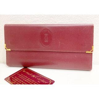 カルティエ(Cartier)のカルティエ マストライン ダブルホック がま口 財布(財布)