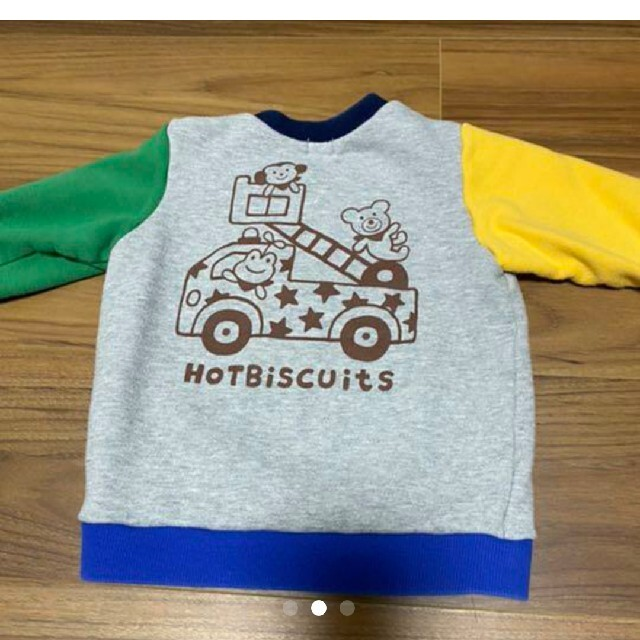 DOUBLE.B(ダブルビー)のトレーナーミキハウス90 キッズ/ベビー/マタニティのキッズ服男の子用(90cm~)(Tシャツ/カットソー)の商品写真