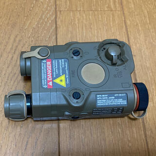サバゲー  バッテリーボックス フラッシュライト ダミーレーザーポインター(カスタムパーツ)
