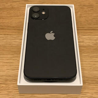 iPhone - iPhone 12 mini 64GB ブラック SIMフリー