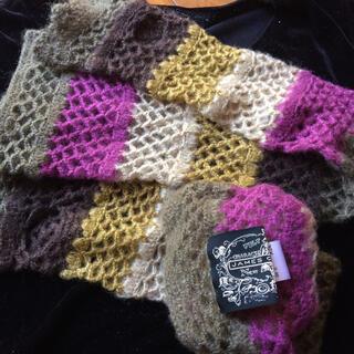 アナスイ(ANNA SUI)の未使用 美品 ハンドウォーマー 手袋 ニット小物 JAMES COVIELLO(手袋)