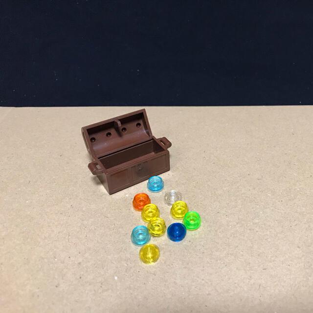 Lego(レゴ)のLEGO 宝箱 G⑥ 透明 クリア ラウンド キッズ/ベビー/マタニティのおもちゃ(知育玩具)の商品写真