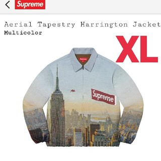 Supreme - 【XL】Aerial Tapestry Harrington Jacket