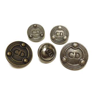 クリスチャンディオール(Christian Dior)のセット祭り②ディオール ボタン 5個セット(各種パーツ)