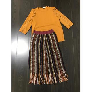 ZARA - ZARA トップスandスカート