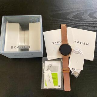 スカーゲン(SKAGEN)の【値下げ中】美品 SKAGEN スマートウォッチ(腕時計)