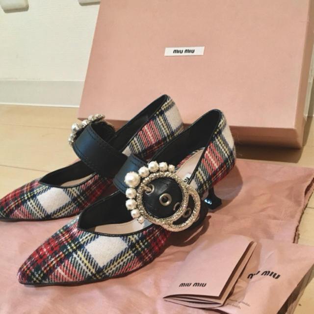miumiu(ミュウミュウ)のMIUMIU ハイヒール レディースの靴/シューズ(ハイヒール/パンプス)の商品写真