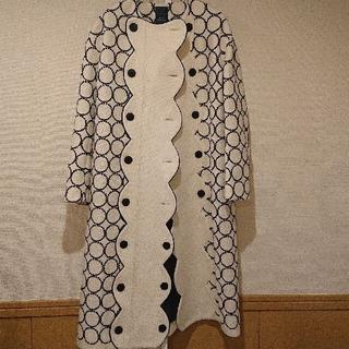 ミナペルホネン(mina perhonen)のミナペルホネン コート タンバリン tambourine 38(ひざ丈スカート)