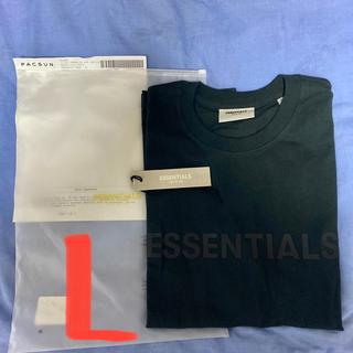 FEAR OF GOD - 20ss 新品 Essentials Tシャツ 黒 Lサイズ エッセンシャルズ