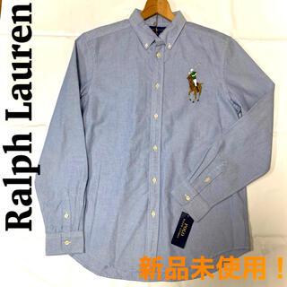 Ralph Lauren - [新品未使用] ラルフローレン デカロゴ オックスフォードシャツ ブルー