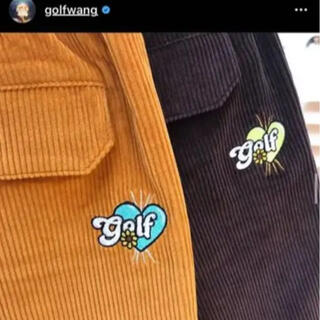 golf wang 2019ss corduroy romeo shorts