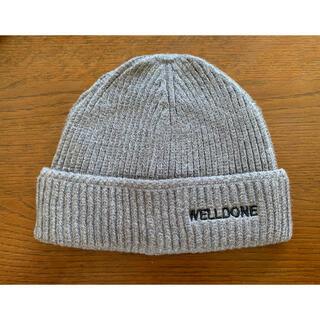 ビッグバン(BIGBANG)のWE11DONE 19FW ヴェルダン Rare Marketニットキャップ(ニット帽/ビーニー)