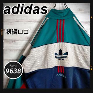 adidas - 【入手困難!!】アディダス✈︎トラックジャケット 刺繍ロゴ VINTAGE