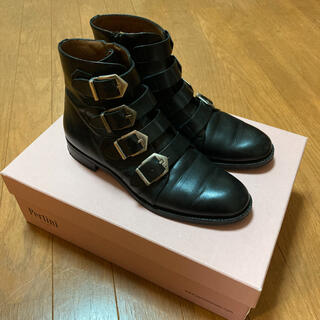 ファビオルスコーニ(FABIO RUSCONI)の一目惚れ級上質レザーショートブーツ(ブーツ)
