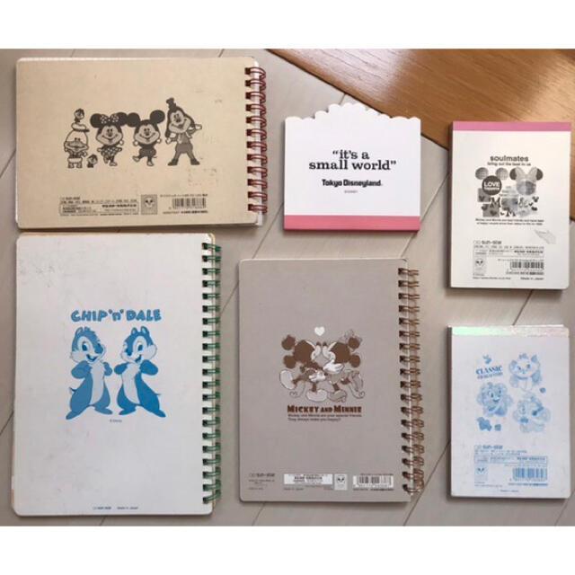Disney(ディズニー)のディズニーメモ帳まとめ売り⑧ エンタメ/ホビーのおもちゃ/ぬいぐるみ(キャラクターグッズ)の商品写真