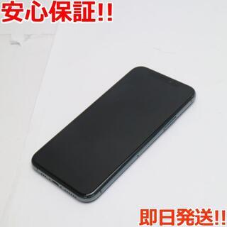 アイフォーン(iPhone)の美品 SIMフリー iPhone 11 Pro 64GB (スマートフォン本体)