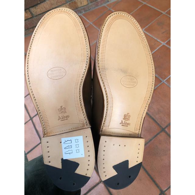 Alden(オールデン)のAlden オールデン コードバンローファー ウィスキー メンズの靴/シューズ(ドレス/ビジネス)の商品写真