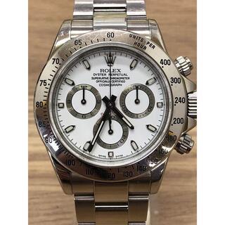 ロレックス ROLEX コスモグラフ デイトナ 116520 D番 白文字盤(腕時計(アナログ))
