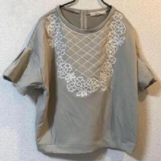 ダズリン(dazzlin)の新品 ダズリン   刺繍カットソー(カットソー(半袖/袖なし))