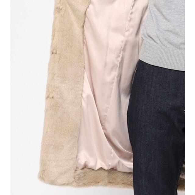 FRAY I.D(フレイアイディー)の☆*°FRAY I.D ファーコート 未使用✩.*˚ レディースのジャケット/アウター(毛皮/ファーコート)の商品写真