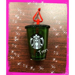 スターバックスコーヒー(Starbucks Coffee)のラスト❗️スターバックス☆ホリデー☆クリスマス☆オーナメント☆コールドカップ(その他)