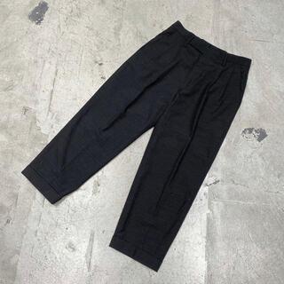 COMOLI - 20ss COMOLI コモリ WOOL 2TACK PANT テーパード 1