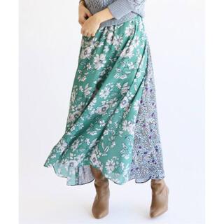 IENA - イエナ DEVEAUX フラワープリントスカート